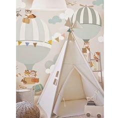 @littlehandswallpaper #kidsroom #kidsroomdecor #interiordesign #nursery #wallpaper #childrenwallpaper