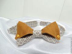 Купить Мода 2015 Бабочка - галстук женская - бабочка-галстук, бабочка на шею, бабочка из ткани