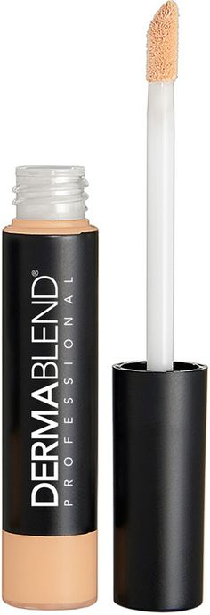 Dermablend's Smooth Liquid Camo Concealer is a medium coverage liquid concealer. With the ability to give flexible camouflage that instantly makes dark circles and any localized imperfections disappear. The wand applicator allows for quick accurate coverage that sweeps on skin.