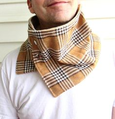 CHRISTMAS HOLIDAY GIFT Gifts For Him Mens wool cowl by knitwit321