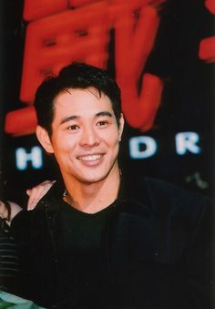 "Jet Li. He was not bad looking in Aalliyah's Try Again video""Romeo Must Die"". I love when he holds her sideways (she's parallel to the ground) and he dances with her."