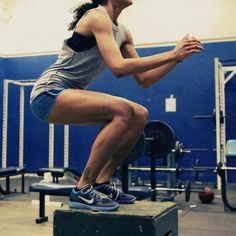 Box jumps are a great exercise for improving your leg power/explosiveness. Therefore, what you gain from this exercise will carry over into other key exercises such as your squat and deadlift.