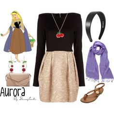 Aurora, created by disneylooks