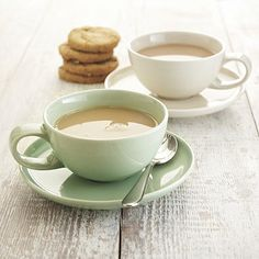 delicious. Mint Coffee Cup with Saucer - From Lakeland ... This makes me feel like a cup of tea!