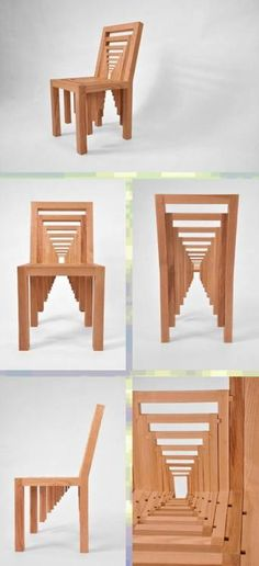 I don't know where this chair is from.  I found it on Humor Train site. So cool.