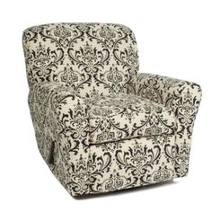 Little Castle Reclining Swivel Glider - The Linen Bordeaux Collection $600 at Target
