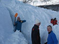 Vintertur med 2IDA til Hemsedal. Perfekt vær og temperatur i fjellet for denne sporty idrettsgjengen!