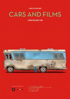Christmas Vacation inspired poster by Jesús Prudencio. Cars And Films
