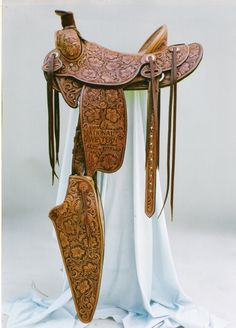 Saddle by Troy West Saddles