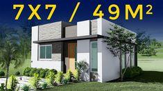 Small House Design, Home Design Plans, House Plans, Desktop Screenshot, Multi Story Building, How To Plan, Studio, Outdoor Decor, Beautiful