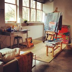 This is a art studio all my children would love!