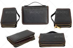 Black business briefcase isolated on white background. (bag, black, briefcase, business, case, close, concept, contemporary, copy, document, elegance, fashion, files, folded, folder, folio, handle, individuality, isolated, job, leather, life, lock, luggage, nobody, objects, office, old, packing, pages, path, personal, portfolio, purse, retro, shot, side, single, slim, storage, studio, suitcase, travel, view, white, work)
