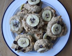 Banana Bread Muffin Toppers-  post run recovery snack