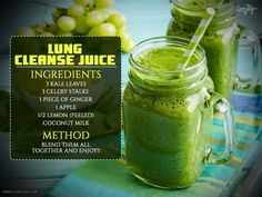 Next Post Previous Post Cleanse the Lungs with this Powerful Natural Detox Juice Egal, ob Ihre Lunge durch Luftverschmutzung oder. Healthy Detox, Healthy Juices, Healthy Smoothies, Healthy Drinks, Detox Juices, Detox Diet Drinks, Diet Detox, Detox Foods, Veggie Juice