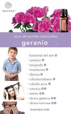 Aceites Esenciales| Geranio - Manoma Spa & Wellness Los Cabos