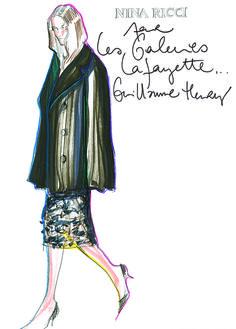 Galeries Lafayette : des croquis de mode pour la bonne cause - ABC Luxe