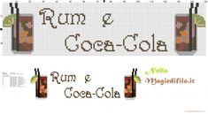 Dish towel Rum e Coca-Cola (click to view)