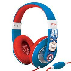 Marvel Avengers Captain America Over The Ear Headphones