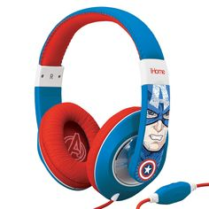 Marvel Avengers Captain America Over The Ear Headphones