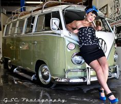Hot rod muscle cars rat rods and girls photo pin ups for Garage volkswagen munster
