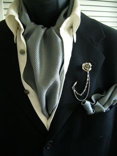 howtogentleman: Ascot ties are great. You can give yourself the super laid back look or the old aristocrat look.