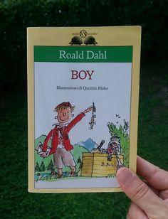 """#MarcoLegge e capisce molte cose: """"Boy"""" di Roald Dahl / aprile 2017"""