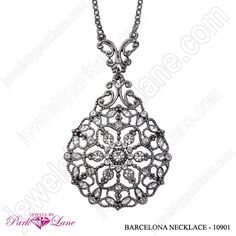Barcelona Necklace -  find out how to receive this absolutely FREE!  www.myparklane.com/lgoetz