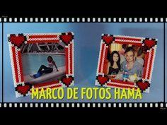 MARCO FOTOS HAMA PERLER DIA ENAMORADOS - YouTube