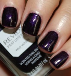 Stocking stuffer: target: revlon perfumerie wild violets - All For Hair Color Trending Revlon Nail Polish, Nail Polish Colors, Nail Polishes, Revlon Nagellack, How To Do Nails, Fun Nails, Daily Nail, Pretty Hands, Nail Polish Collection