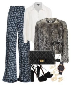 """Untitled #2536"" by erinforde ❤ liked on Polyvore featuring Etro, Topshop, Nico, Unique, Aquazzura, Lanvin and Marc Jacobs"
