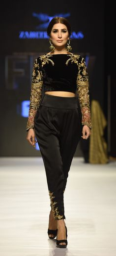Zaheer Abbas Collection titled 'Baad-e-Naubahar' at Fashion Pakistan Week 2015