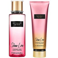 Victoria'S Secret Victoria Secrets Love Pack (2,010 DOP) ❤ liked on Polyvore featuring beauty products