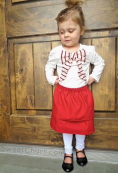 Sweet Charli: How to Make A Fold Over Skirt in 3 Steps