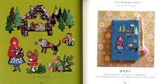 Tamao's Fairy Tale Embroidery Japanese Craft Book por pomadour24
