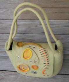 "Сумка с клапаном по мотивам сумки ""Лето"" - Ярмарка Мастеров - ручная работа, handmade"
