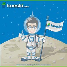 Un día como hoy nació Neil Armstrong, el primer hombre en dar un paso en la luna.  #KueskiEfemérides #NeilArmstrong