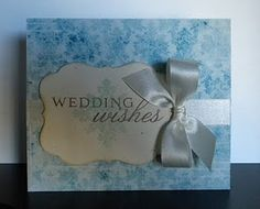 Wedding Wishes Card by @Jamie Greene