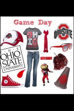 Brian has got me started in this kinda clothing for game day!