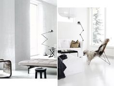 jielde floor lamps interiors trend Sunday sanctuary oracle fox