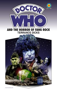 a customer drawn and digitally enlarged Target book cover for one of my Top 5 Favorite Doctor Who adventures!    I am so buying this to frame and put up! Dr Who Books, Doctor Who Books, Doctor Who Art, Ninth Doctor, Good Doctor, Doctor Who Episodes, Classic Doctor Who, Watch Doctor, Jelly Babies