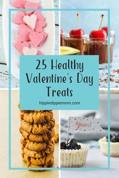 Find 25 AMAZING treats for Valentine's Day in this post. These treats are any combo of GF, sugar free, low carb, vegan, raw, grain free....and delicious!