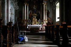 """02. September 2014: """"Auch im Stift muss geputzt werden: St. Florian"""" Mehr Bilder auf: http://www.nachrichten.at/nachrichten/fotogalerien/weihbolds_fotoblog/ (Bild: Weihbold)"""