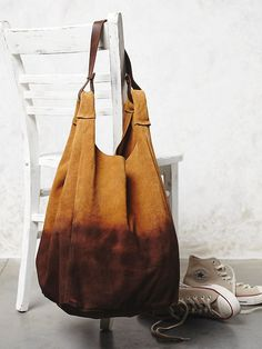 Yerse Atwood Suede Hobo at Free People Clothing Boutique