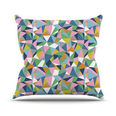 Found it at Wayfair - Abstraction Outdoor Throw Pillow
