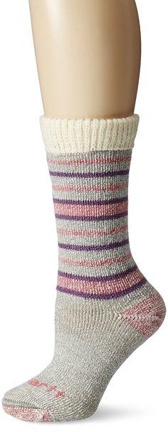 MADE IN USA..Carhartt Women's Heavy Weight Wool Boot Socks with Sweater Top, HeatherGray, 9-11 Sock/5.5-11.5 Shoe