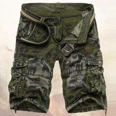 Military Men's Camouflage Shorts