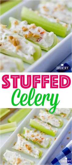 Stuffed Celery recipe from The Country Cook