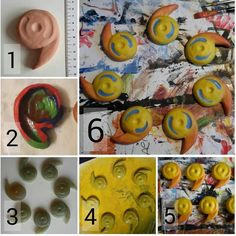 So here is a small step by step guid how i did my pearls for amaterasu ( okami ). 1 : I used air-dry clay to form one model.  2 : then I bought modeling clay. I used some spray oil to be able to lose my model from the modeling clay again. Then I formed it around it - > mold  Thedisadvantage by this methode is that you have to form a new mold for nearly every stone. But you can use the modling clay multiple times and for multiple projects.  3 : I used a pretty old resin from my dad and this…