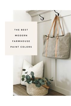 My favorite neutral paint colors and stain for a modern farmhouse look. paint colors grey My favorite neutral paint colors and stains - Greige Paint Colors, Behr Paint Colors, White Paint Colors, Bedroom Paint Colors, Interior Paint Colors, Paint Colors For Home, Gray Paint, Interior Plants, White Ink
