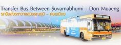 Gratis-Shuttlebus zwischen den beiden Flughäfen in Bangkok